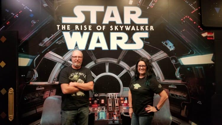 review of the rise of skywalker star wars at the El Capitan