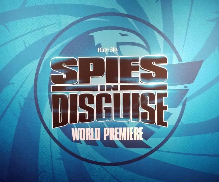 spies in disguise red carpet premiere