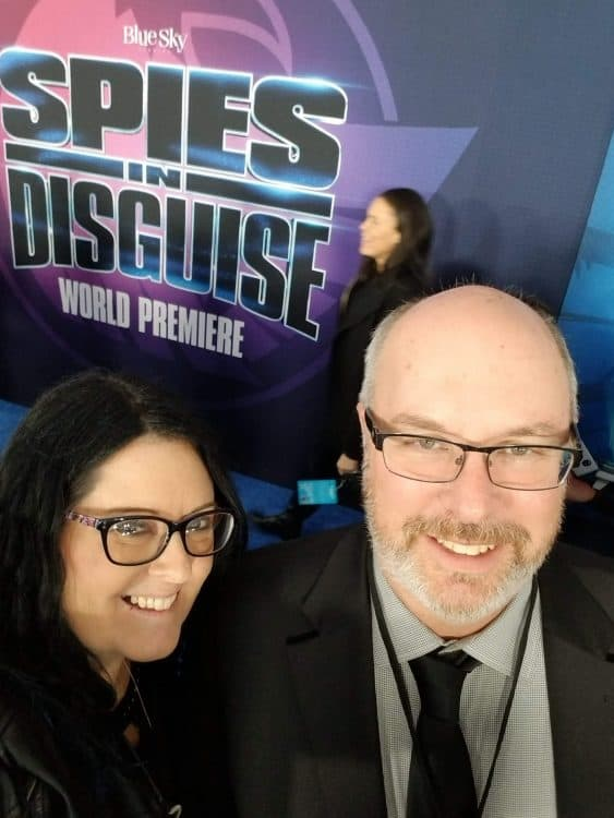 spies in disguise red carpet