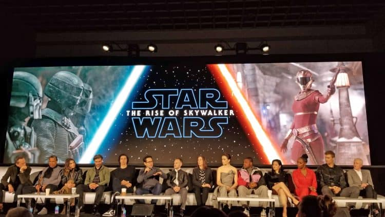 the rise of skywalker cast interview