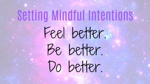 setting mindful intentions