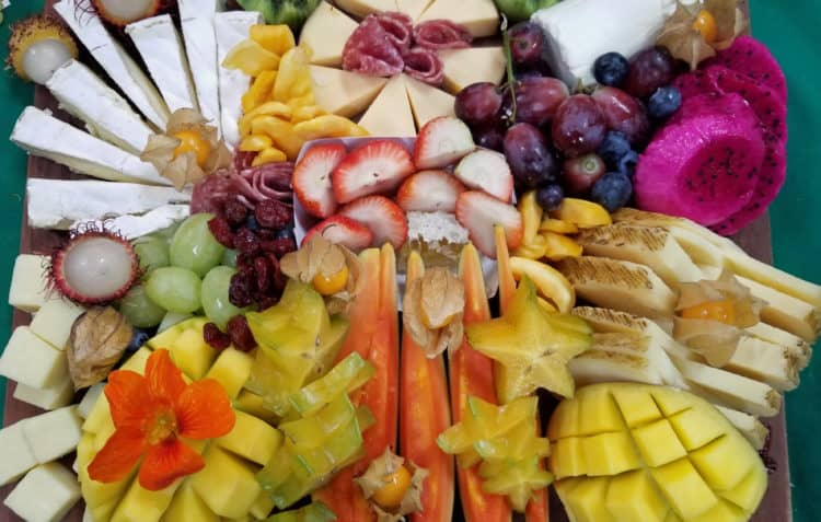 easy cheese board