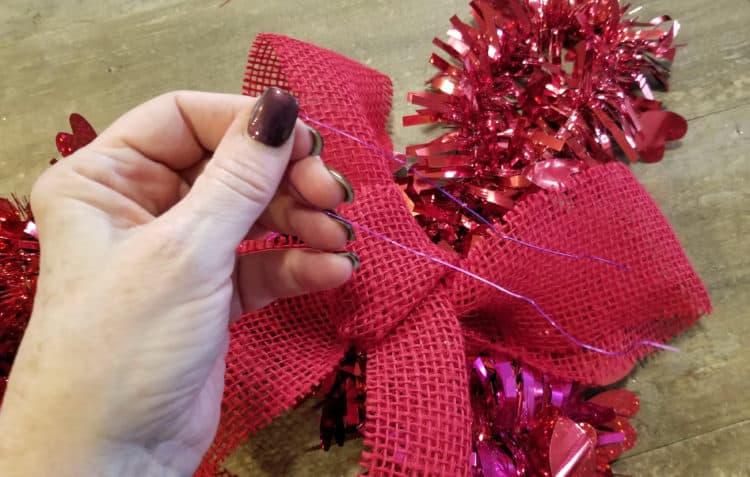 easy valentine's day wreath