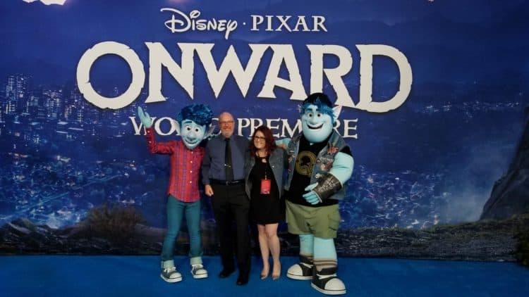 pixar onward world premiere pixar blue carpet