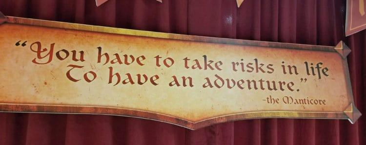 manticore's motto in pixar onward