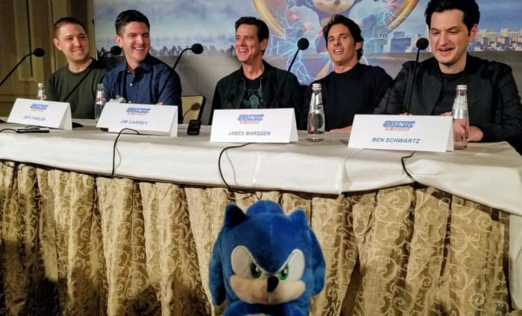 sonic the hedgehog cast
