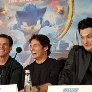 sonic the hedgehog cast interview