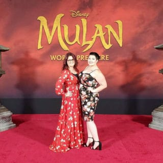 red carpet mulan premiere in hollywood