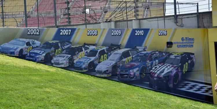 auto club speedway mural