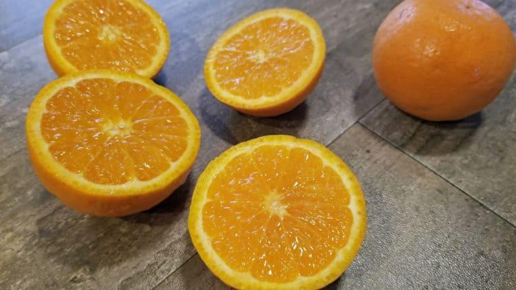 Ojai pixie tangerine quick bread