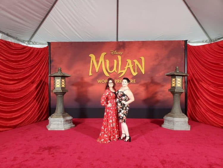 dolby theater mulan premiere