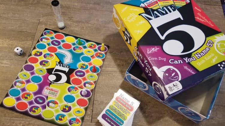 older kids game night with endless games