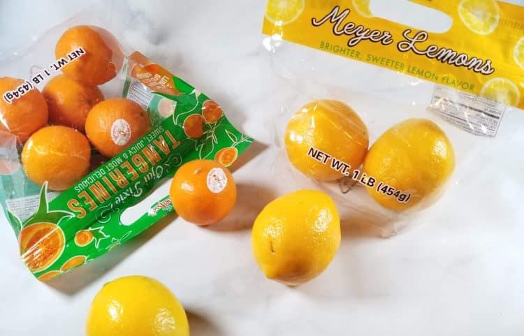 ojai pixie tangerines and meyer lemons