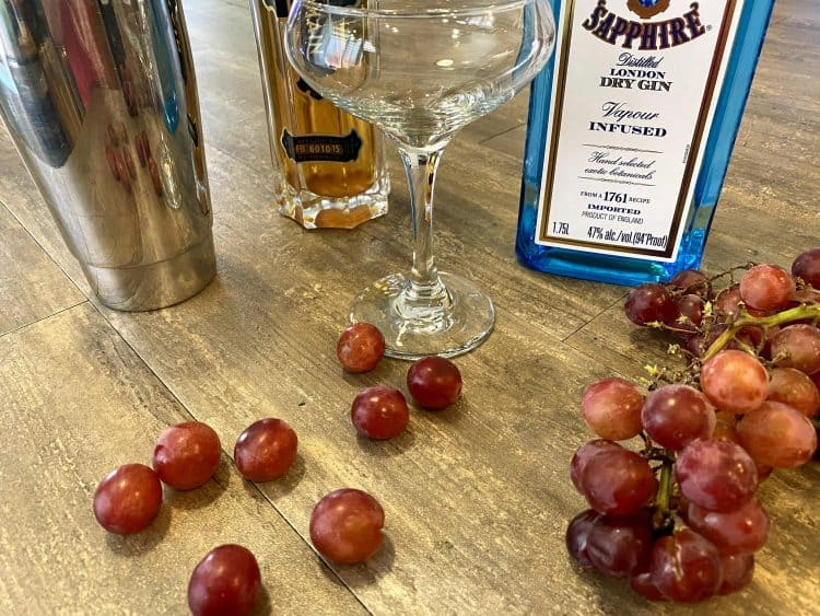 grape gin cocktail recipe