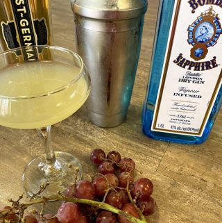 grape gin cocktail recipe