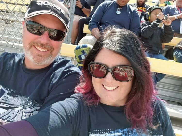 us at Auto Club Speedway Auto Club 400 in Fontana