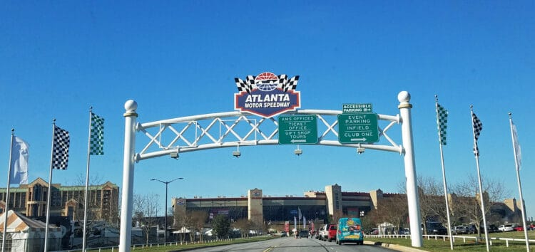 atlanta motor speedway entry