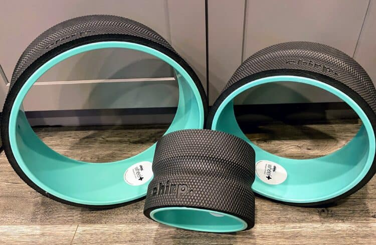 Chirp Wheel for back pain relief
