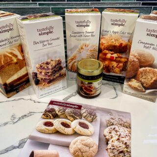 tastefully simple home baking essentials giveaway