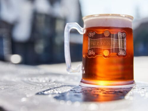 get butterbeer at Universal Studios Hollywood