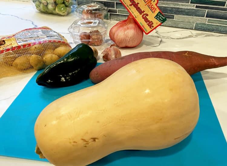 roasted vegetable soup ingredients