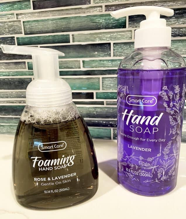 hand sanitizing liquid soap