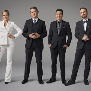 cast of the Chase with Sara Haines