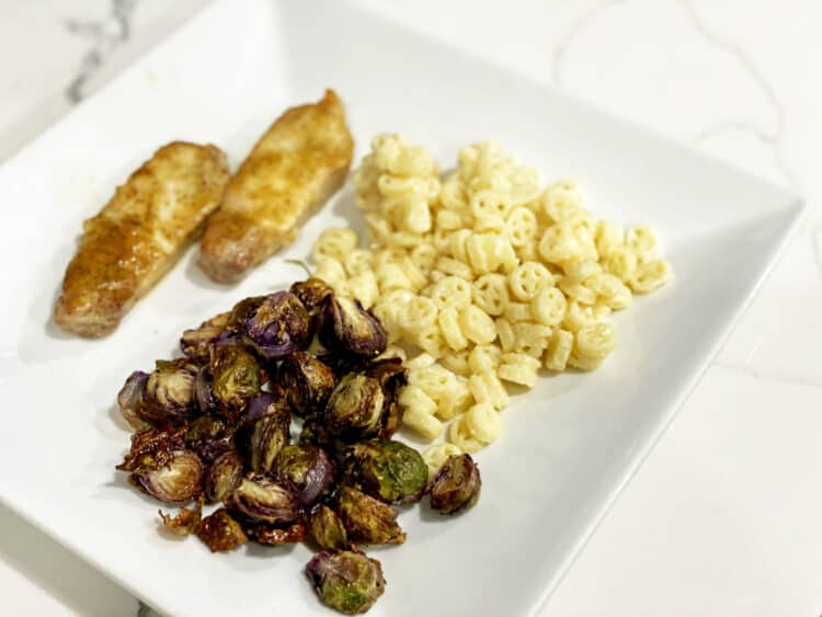 air fryer Brussels sprouts recipe