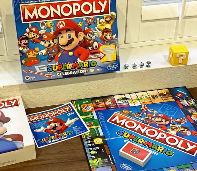 Mario monopoly game