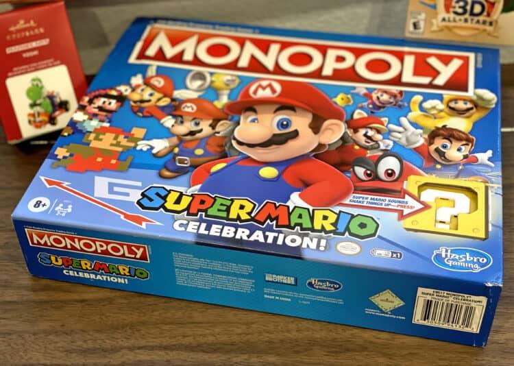 Mario monopoly by nintendo