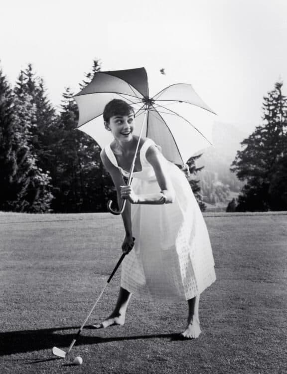 hollywood icon Audrey Hepburn giveaway