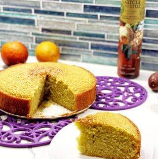 blood orange olive oil cake recipe