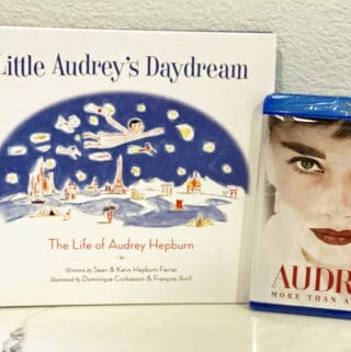 Audrey Hollywood icon Audrey Hepburn book and blu-ray giveaway