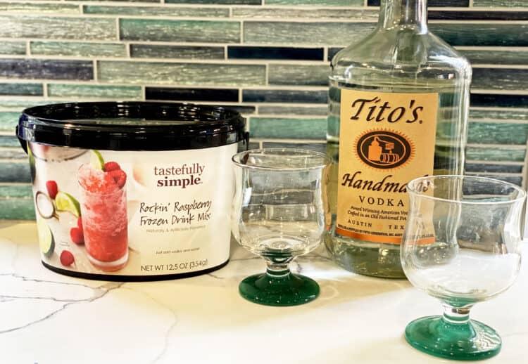 frozen drink mix
