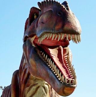 t-rex at jurassic quest Pomona