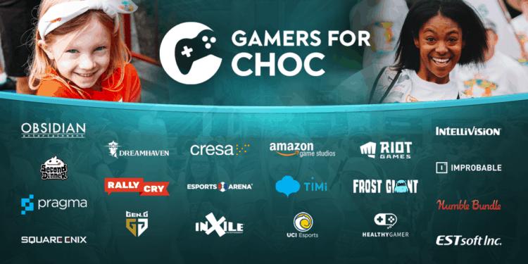 gamers for CHOC 2021 CHOC Walk
