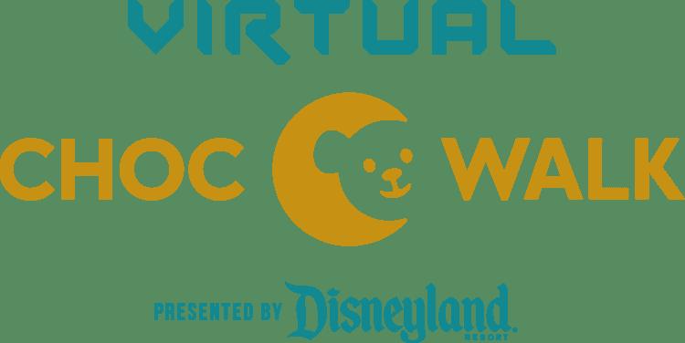 choc walk 2021 virtual by Disneyland