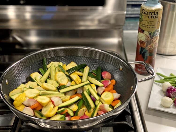 citrus veggie stir fry