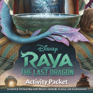 raya and the last dragon printable to download