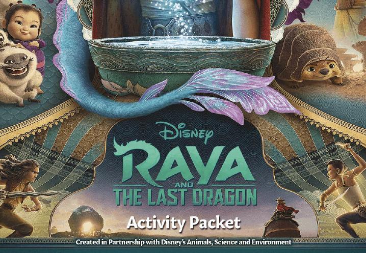 raya and the last dragon printable to download