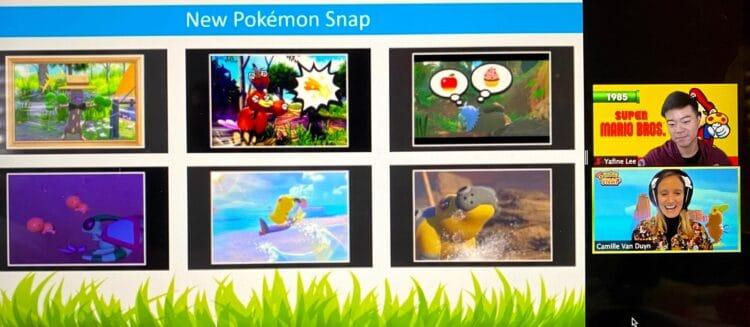 Nintendo switch Pokemon snap