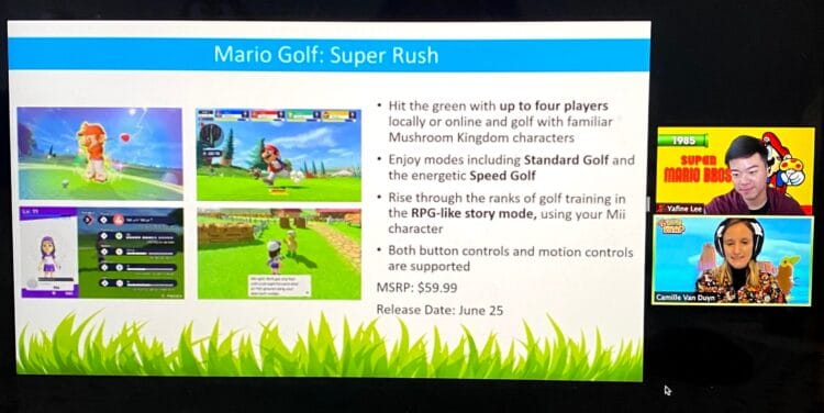 Nintendo spring game releases