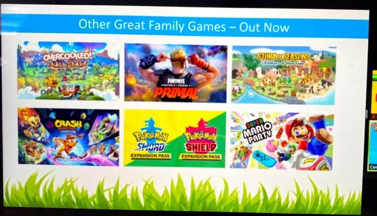 Nintendo switch games already released