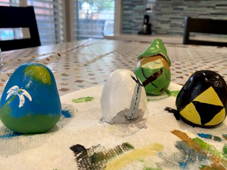 Zelda Easter egg craft