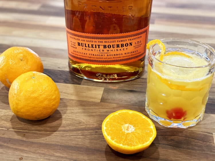 bulleit bourbon tangerine sour
