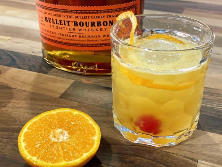 bourbon tangerine sour