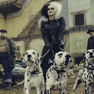 disney cruella costumes and music
