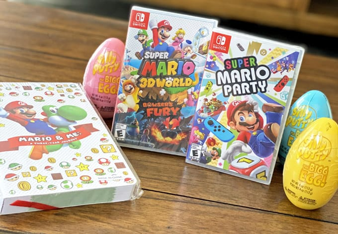 spring video game fun with Nintendo switch