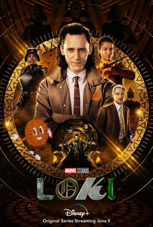 Loki on Disney+ poster