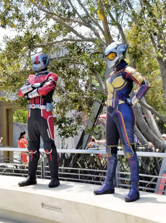 ant man and wasp visiting avengers campus